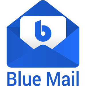 Blue mail logo